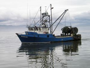Fishing Boat on the Columbia River